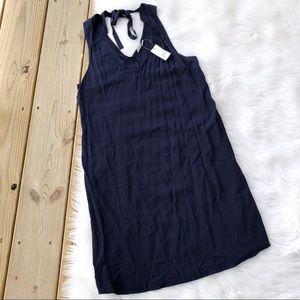 Gap Mini Navy Blue Sleeveless Dress